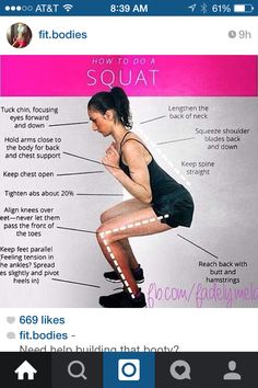 How to do a squat right
