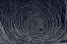 Stanley Donwood.  Part of his Holloway collection.
