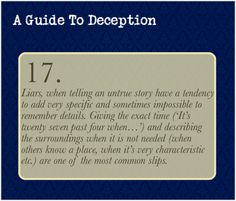 A Guide To Deception — Submission bym-o-u-s-t-a-c-h-e—g-i-r-l