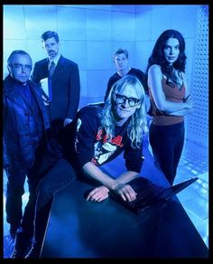 """""""The Lone Gunmen""""--yet another good show the Fox Network cancelled. The Lone Gunmen, Trust No One, Gillian Anderson, Scully, Films, Movies, Tvs, Lonely, Science Fiction"""