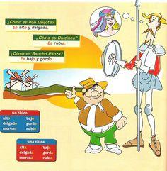 Dulcinea, Don Quijote y Sancho Panza