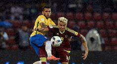 Cuplikan Gol Venezuela vs Brasil 0-2 (Kualifikasi Piala Dunia 2018)