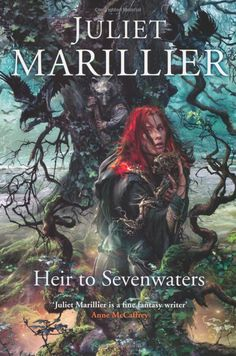 Heir to Sevenwaters: Juliet Marillier   One of my favourite book covers