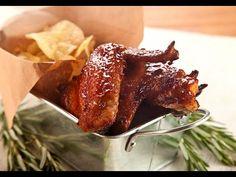 Ali di Pollo Dorate in Salsa BBQ al Miele - Gourmant
