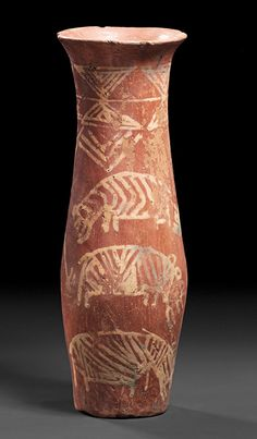 Egyptian Nile Valley: (Society for the Promotion of the Egyptian Museum Berlin) Nagada II, ca. 3500 BC Ceramic