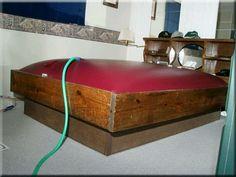 Mi habitación: Tengo cama de agua.
