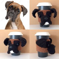 Boxer Coffee Cozy Paid Pattern