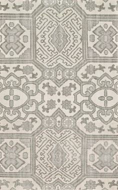 Neutral gray tones and an indie inspired pattern create an appealing centerpiece for your floor. Pair the Freya rug with soft whites and natural woods for subtle bohemian style.