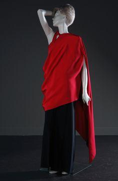 Madame Grès 2 piece Evening Dress c.a. 1969,  Medium: silk