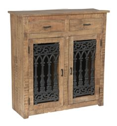 This Crestview Collection Bengal Manor Mango Wood and Solid Metal Cabinet measures 40 inches tall, 38 inches long and 18 inches deep. It will look great in any room. Wood And Metal, Solid Wood, Mango Wood Furniture, Furniture Ideas, Rustic Furniture Stores, Hallway Console, Crestview Collection, Rustic Cabinets, Modern Farmhouse Bathroom