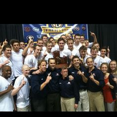 auburn+swimming | All Things Auburn / Auburn Men's Swimming wins their SIXTEENTH ...