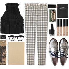 """check"" by mariimontero on Polyvore"