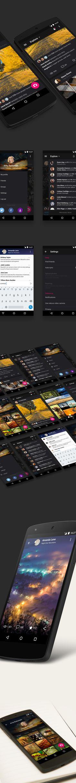 Flickr App Redesign on Behance