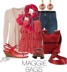"""""""Maggie Bags 3"""" by jgee67 ❤ liked on Polyvore"""