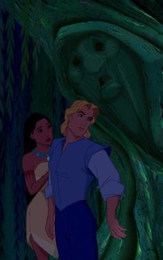 *POCAHONTAS, CAPTAIN JOHN SMITH & GRANDMA WILLOW ~ Pocahontas