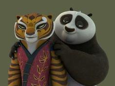 kung fu panda 3 po and tigress Tigress Kung Fu Panda, Po And Tigress, Cartoon Panda, Cute Cartoon, Dreamworks Animation, Disney And Dreamworks, Panda Wallpapers, Cartoon Ships, Freddy 's