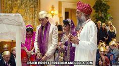 Interfaith Sikh Wedding Ardas Prayer with Destination Sikh priest in California! Sikh Wedding, Punjabi Wedding, Cancun Wedding, Destination Wedding, Indian Wedding Planner, South Asian Wedding, Priest, Freedom, Culture