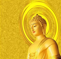 A Di Da Phat Lord Buddha Gold 02 by kwanyinbuddha on DeviantArt Gautama Buddha, Buddha Buddhism, Banner Background Hd, Paper Background, Mahayana Buddhism, Golden Buddha, Ganesh Wallpaper, Buddhist Teachings, Thing 1
