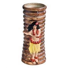 Hula Girl Tiki Mug