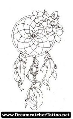 dream catcher with roses - Google Search