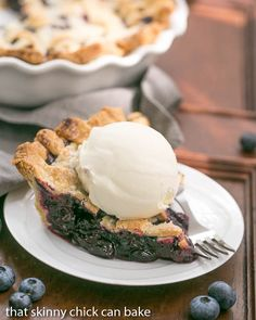 Freeze and Bake Blueberry Pie | Make an extra pie for the freezer and bake…