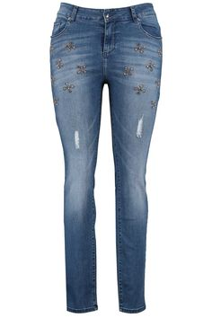 Slim leg jeans | Exclusive collection | Denim | Fashion | Plussize fashion | Spijkerbroek