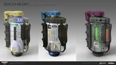 ArtStation - Some Black Ops 4 work, ECHO LIMA Future Weapons, Tech Art, Black Ops 4, Drink Bottles, Concept Art, Lima, Water Bottle, Fantasy Landscape, Futuristic