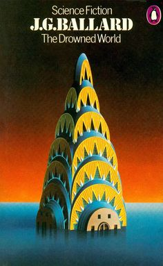 April 1974 reprint from Penguin Science Fiction with a cover painting by David Pelham. The Chrysler Building  is based on a photograph by Evelyn Hofer in New York Proclaimed (1964)