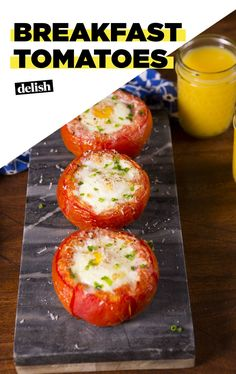This is the perfect low carb breakfast that you need. Delish