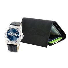 Seattle Seahawks Watch and Wallet Set
