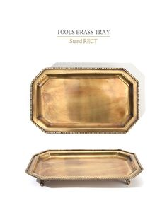 TOOLS BRASS TRAY - [New Lifestyle Store, FUNSHOP]