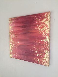 Stück Titel: umhüllt Maße: 12 x12 Acryl und Blattgold auf Leinwand Signiert und datiert. * NAME LOKALEN KÄUFER * Um die Versandkosten zu umgehen, ist abholen von Kunstwerken eine Option. Wenn Sie, dazu möchten bitte Nachricht, bevor Sie versuchen, ein Stück zu kaufen, damit ich Diy Canvas Art, Diy Wall Art, Diy Art, Acrylic Art, Acrylic Painting Canvas, Diy Painting, Cuadros Diy, Glitter Wall Art, Gold Leaf Art