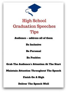 valedictorian speech ideas for grade 8