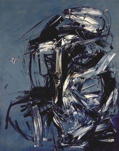 Antonio Saura:  Maja (1957) dark but i like it