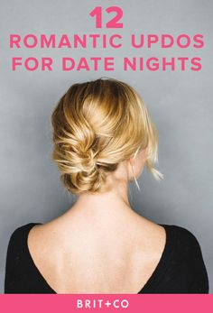 Give yourself the most romantic updo ever for your Valentine's Day date with these hair tutorials.
