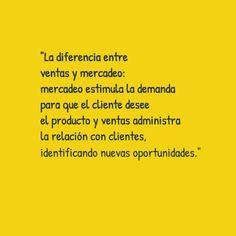 [Mercadeo #bienpensado ] La diferencia entre ventas y mercadeo, ¿quién hace qué?...http://bienpensado.com/la-diferencia-entre-ventas-y-mercadeo-quien-hace-que/