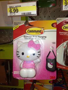 Hello Kitty Hook, super cute