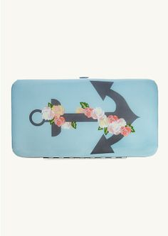 Rose Anchor Hinged Wallet | Wallets & Wristlets | rue21