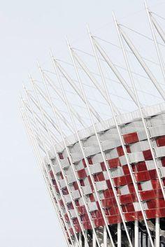 National Stadium in Warsaw, Poland!!! #soccer