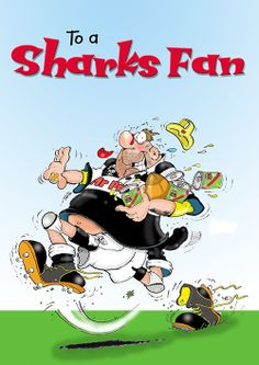 South African Sharks Rugby.