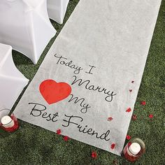Your walk down the aisle is one of the most important walks of your life. Add a regal touch to walk with an aisle runner. Contact us today to reserve.	#happilyeverafter #follow4follow #followus #2017 #aprilbrides #may#spring #springbrides #destinationweddings #wanderlust #dreamday#foreverafter #caribbeanweddings #weddingplanner #weddings #travel #romance #love #pinterest #weddingsinmay #bridalparty #bridetobe #weddingregistry #shesaidyes #BrideToBe #FlowerGirl #WeddingDay #WeddingTrends…