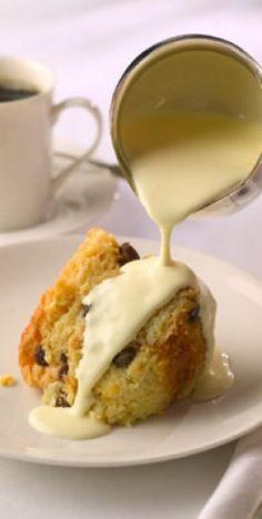 Amaretto Bread Pudding Recipe