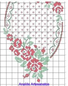This Pin was discovered by Ays Hand Embroidery Stitches, Ribbon Embroidery, Cross Stitch Embroidery, Cross Stitch Pillow, Cross Stitch Bookmarks, Cross Stitch Designs, Cross Stitch Patterns, Crochet Table Runner, Christmas Cross