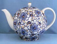 Russian: Lomonosov Russian Porcelain Teapot Tea Set Tea Cups Russian Teacups Lomonosov