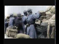 """""""Le bruit et la fureur """" Film exceptionnel - color - de la première guerre mondiale de 14/18... émouvant."""