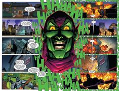 Boom Boom Boom goes the Green Goblin in Superior Spider-Man #29