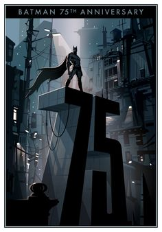 Batman 75th anniversary by Candykiller