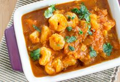 Prawn Puri | Slimming Eats - Slimming World Recipes