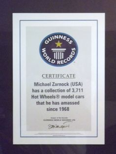 Guinness World Record 2003  #guinnessworldrecords #ripleys #hotwheels #mattel