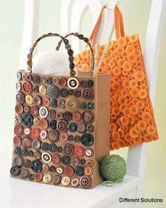 design idea for a tote  - use a hessian one?